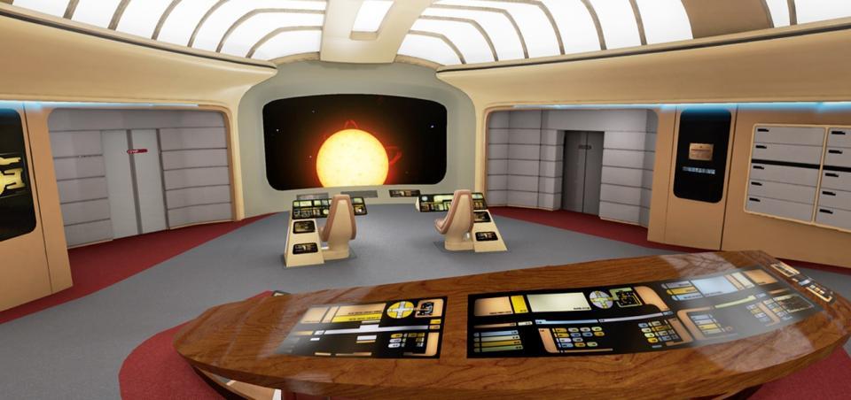 Uskoro ćete uz pomoć VR tehnologije moći prošetati Enterpriseom iz Star Treka