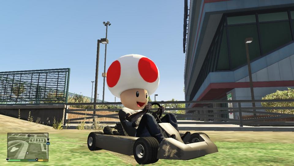 Mario Kart stigao u GTA V