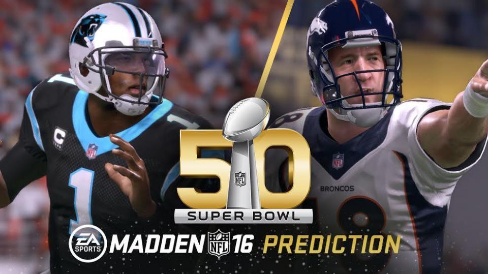 Madden NFL 16 nije pogodio pobjednika Super Bowla 50