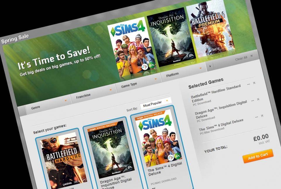 Započela proljetna rasprodaja igara na Originu