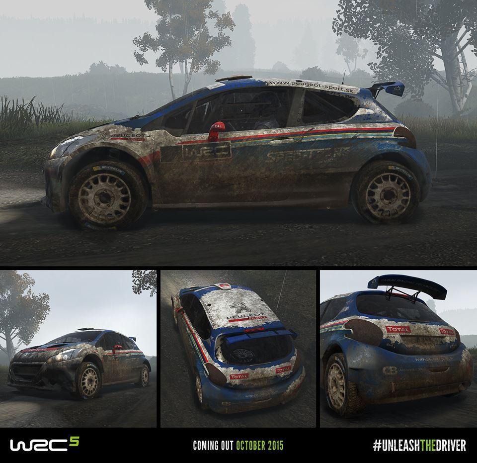 WRC 5 će vam uprljajti auto na različite načine