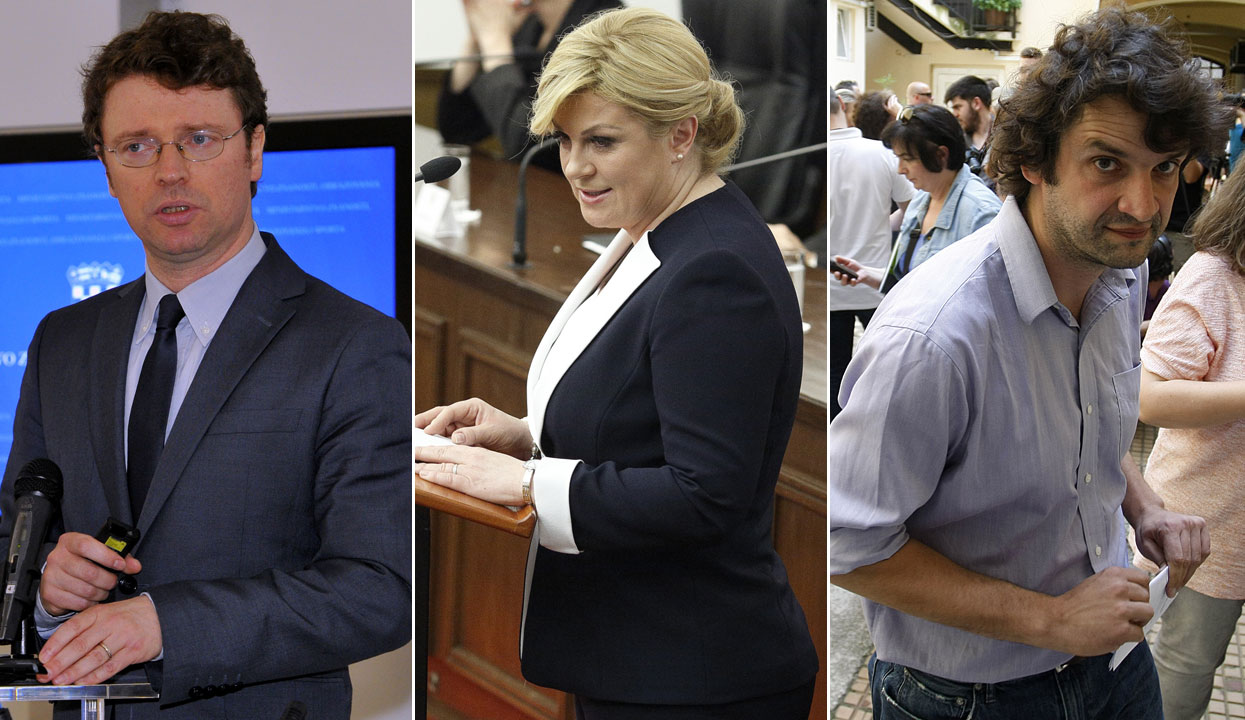 Predrag Šustar, Kolinda Grabar Kitarović, Boris Jokić