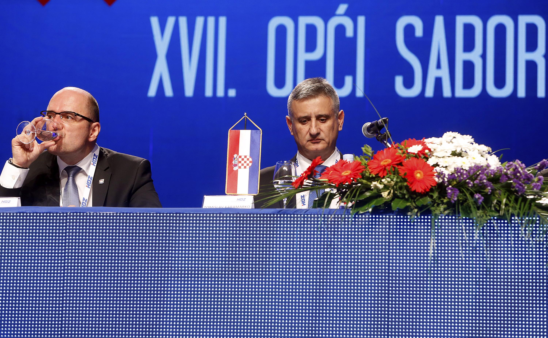 Milijan Brkić i Tomislav Karamarko