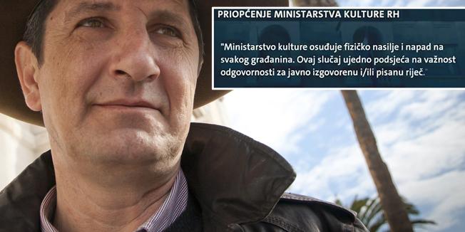 Split, 250115.Ante Tomic novinar i knjizevnik.Foto: Vojko Basic / CROPIX
