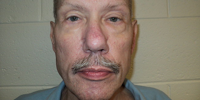 Keith Allen Harward, convicted of a 1982 murder and rape in Newport News, Virginia, is seen in an undated picture released by the Virginia Department of Corrections.  REUTERS/Virginia Department of Corrections/Handout via Reuters   THIS IMAGE HAS BEEN SUPPLIED BY A THIRD PARTY. IT IS DISTRIBUTED, EXACTLY AS RECEIVED BY REUTERS, AS A SERVICE TO CLIENTS. FOR EDITORIAL USE ONLY. NOT FOR SALE FOR MARKETING OR ADVERTISING CAMPAIGNS