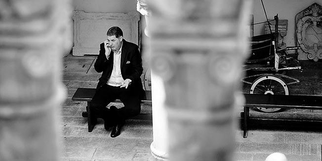 Split, 251013.Muzej Grada Splita.Svecani prijem za antifasiste povodom 69 godina od oslobodjenja Splita. Na fotografiji: splitski gradonacelnik Ivo Baldasar.Foto: Tom Dubravec / CROPIX
