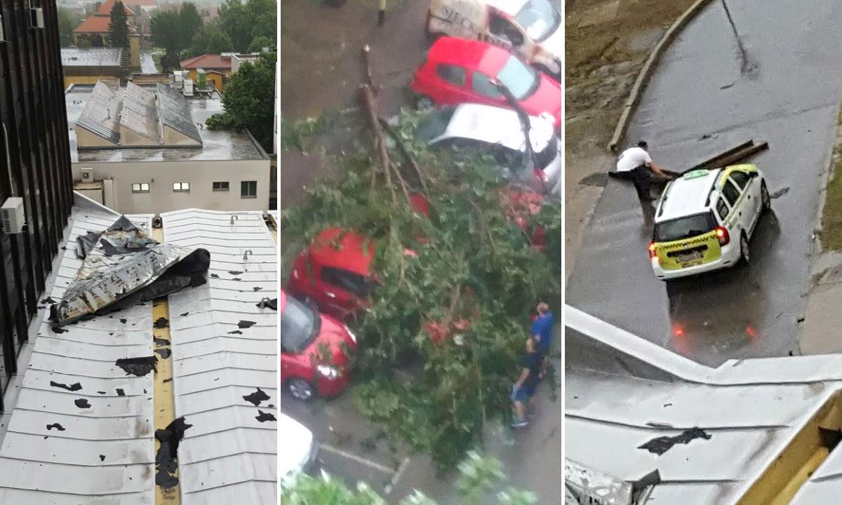 Jutarnji List Osijek Drugi Dan Zaredom Na Udaru Silovite Oluje Nevrijeme Izazvalo Jos Veci Kaos U Gradu