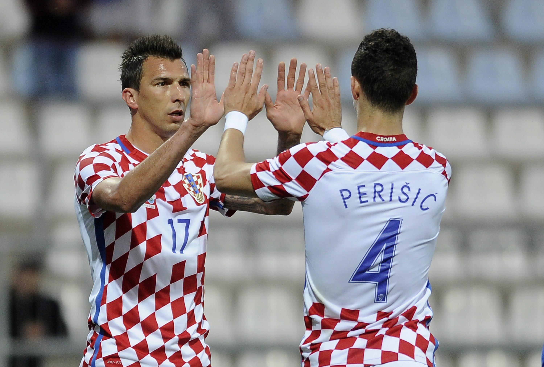 Mario Mandžukić i Ivan Perišić