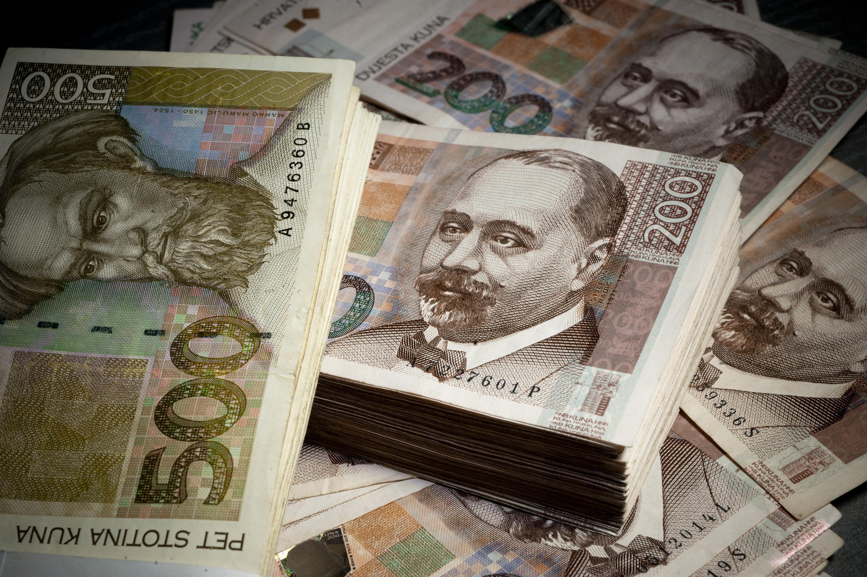 Ilustracija, novac