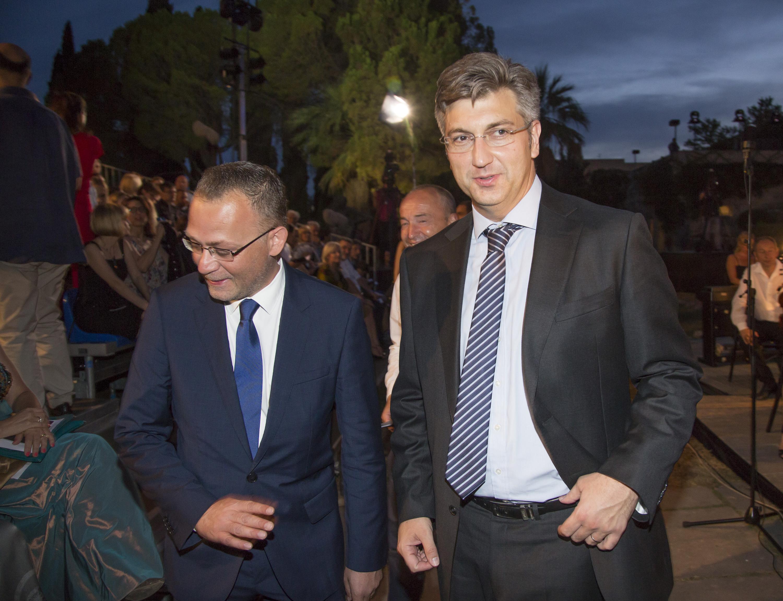 Zlatko Hasanbegović i Andrej Plenković