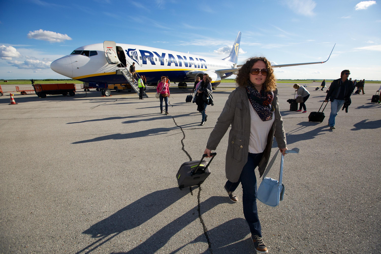 Dolazak putnika iz Londona u Osijek Ryanairovim zrakoplovom