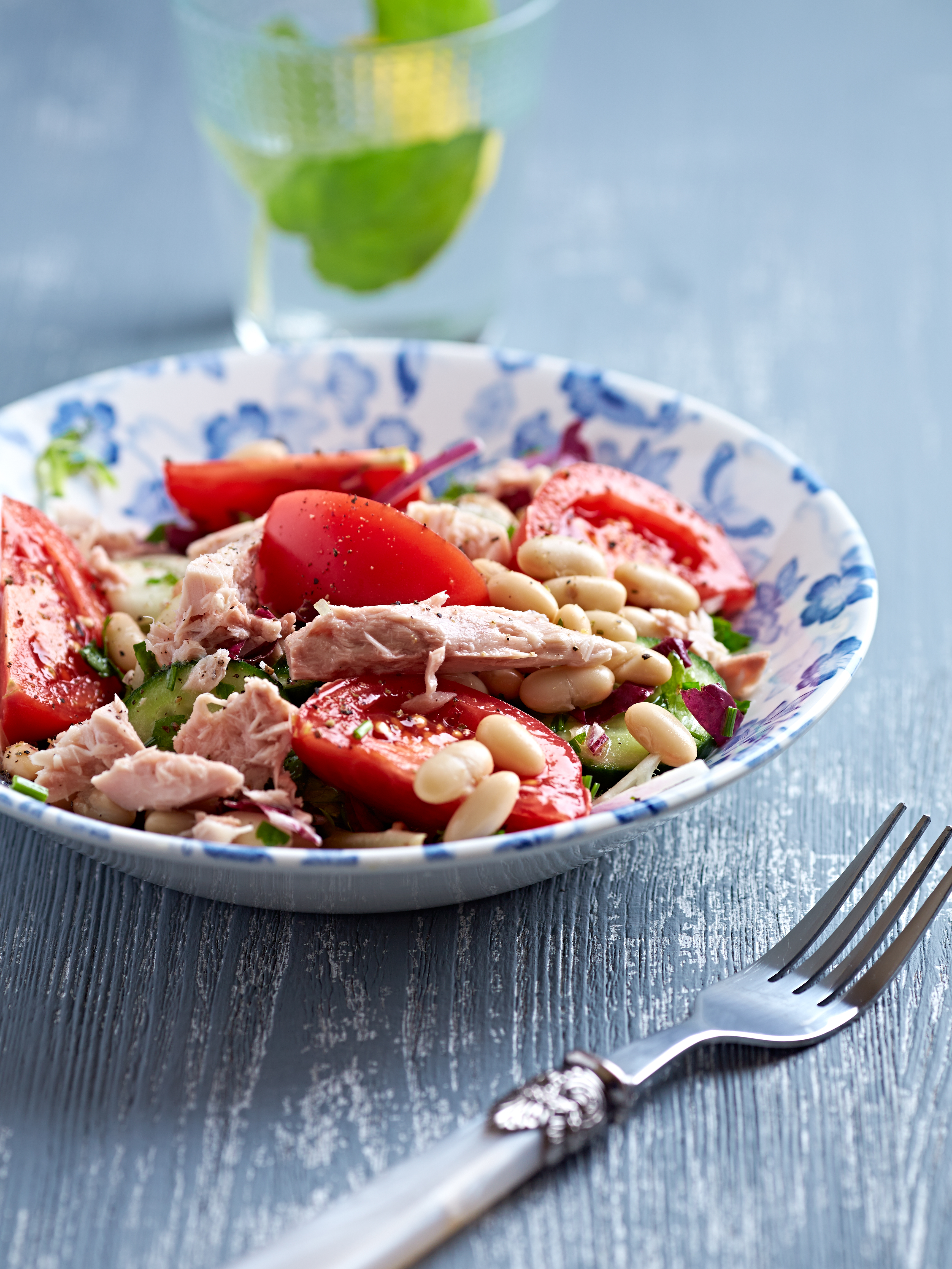 Rustic Tuna Salad with White Beans