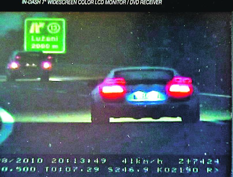 Ilustracija, arhiva/ Policijske snimke prebrze vožnje