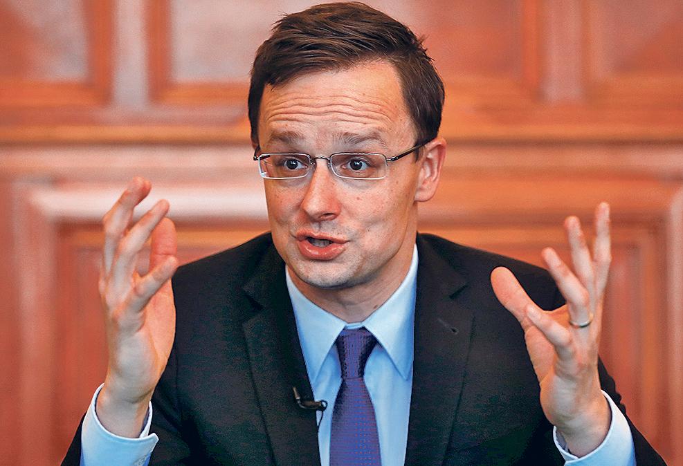 Peter Szijjarto, mađarski ministar vanjskih poslova