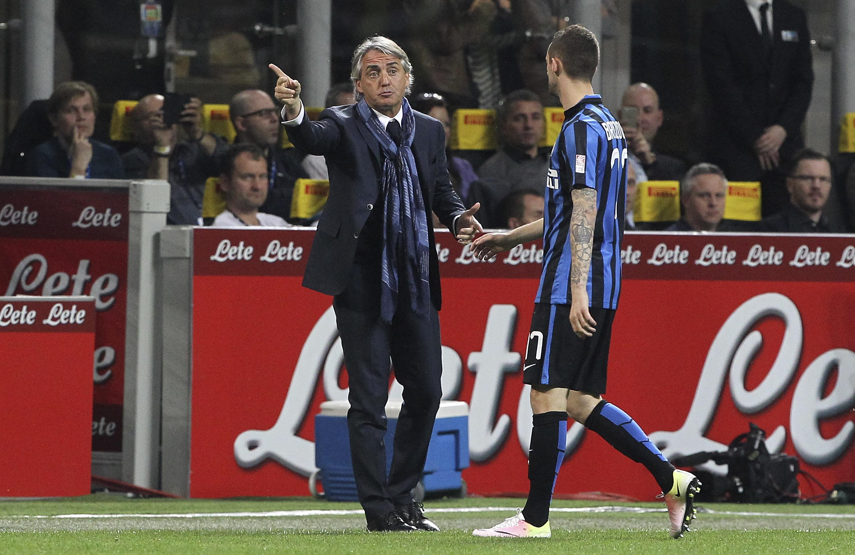 Roberto Mancini i Marcelo Brozović