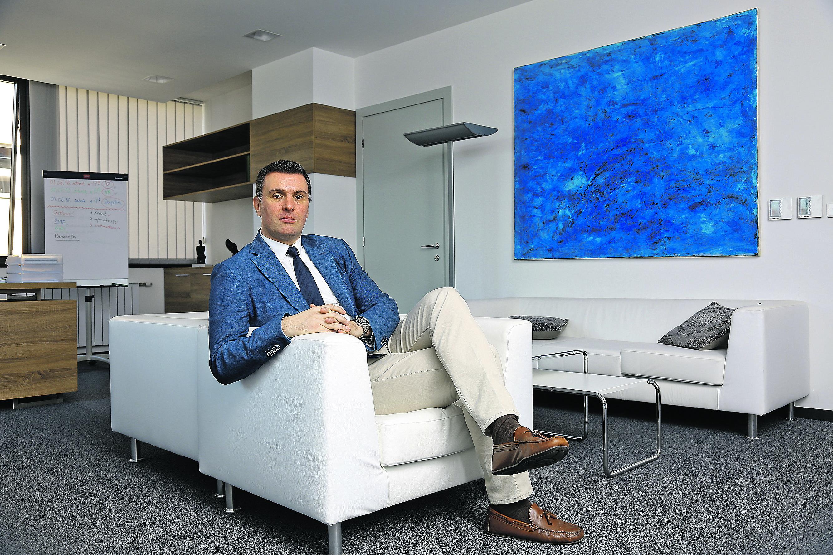 Trpimir Goluža, predsjednik Hrvatske liječničke komore
