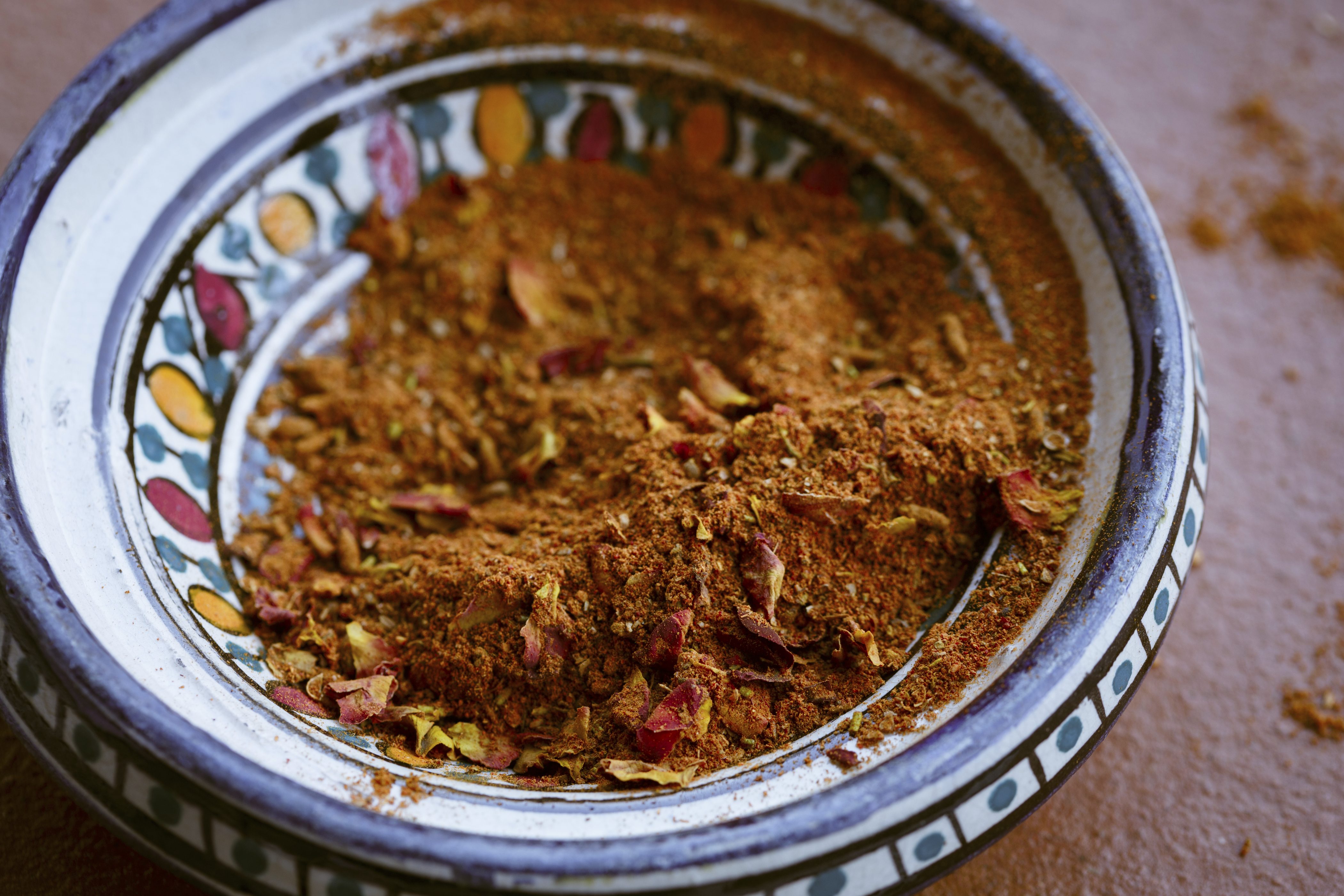 Ras el hanout, a spice mix from North Africa
