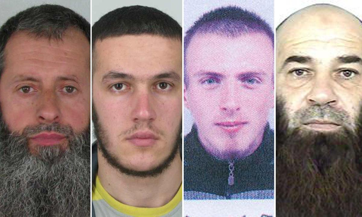 Edin Pečenković, Naser Arnaut, Ibro Ćufurović i Ramo Grahović