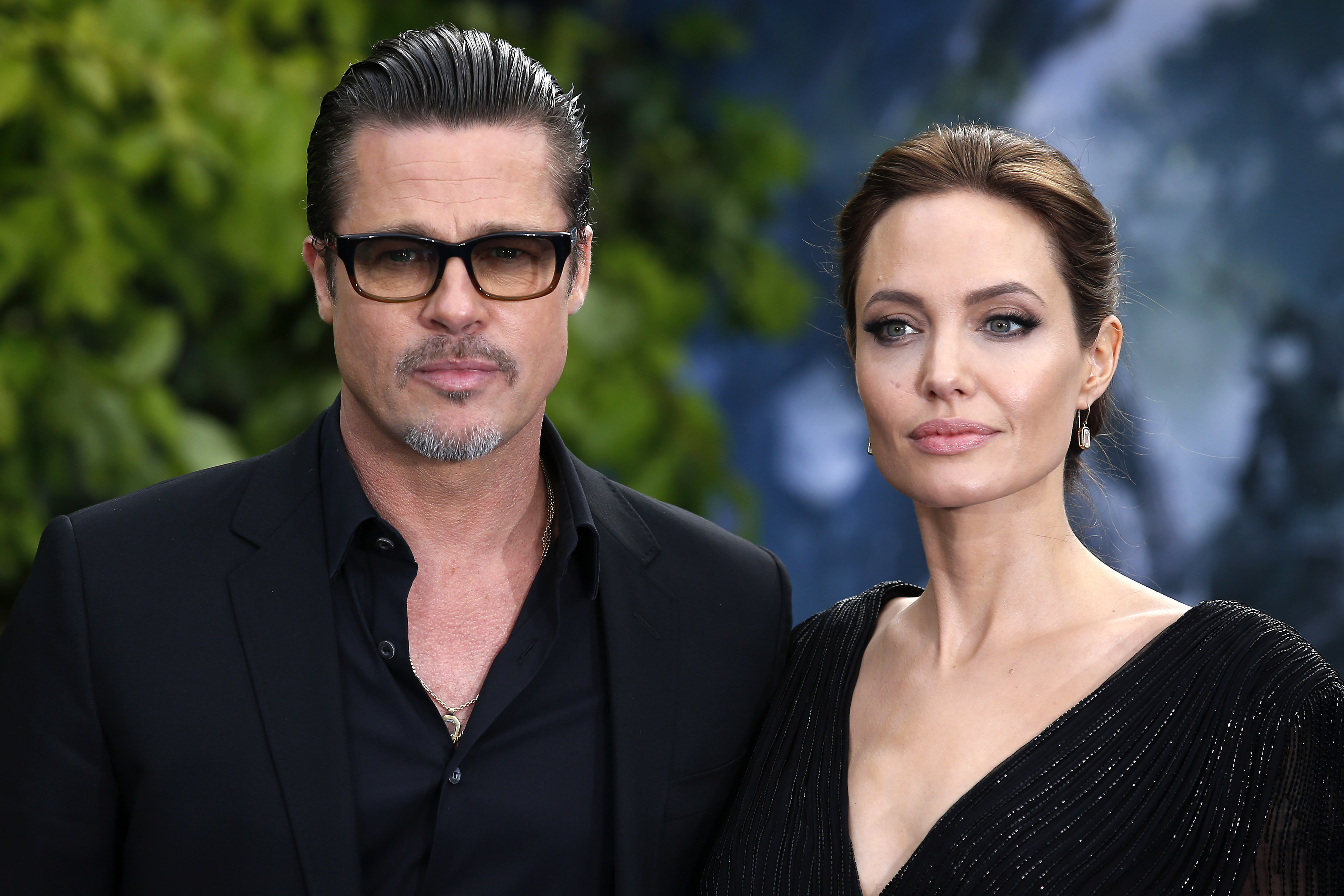 File photo dated 08/05/14 of Brad Pitt and his wife Angelina Jolie attending the premiere of Maleficent at Kensington Palace, London, as Hollywood star Jolie has filed for divorce, TMZ has reported., Image: 300490898, License: Rights-managed, Restrictions: FILE PHOTO, Model Release: no, Credit line: Profimedia, Press Association