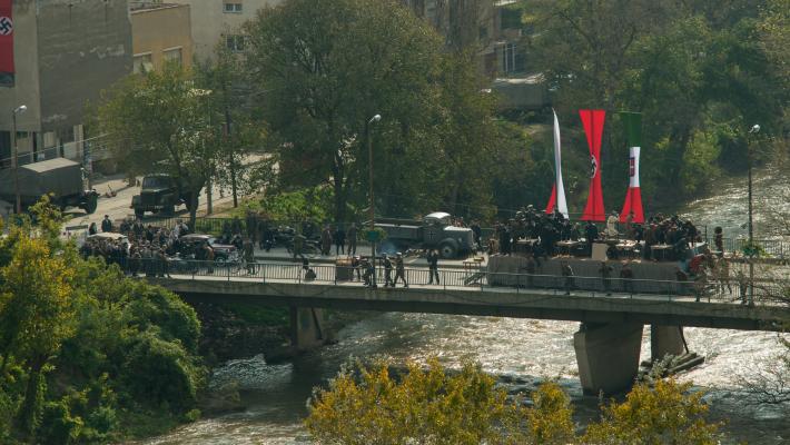 Prizor iz filma 'Oslobođenje Skoplja'
