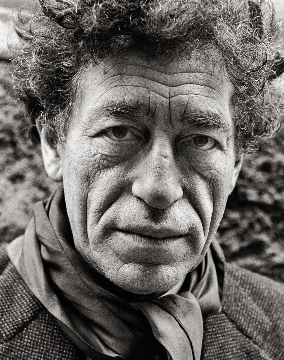 Sculptor and graphic artist Alberto Giacometti. Photograph. Paris. 1957., Image: 156465966, License: Rights-managed, Restrictions: , Model Release: no, Credit line: Profimedia, Imagno