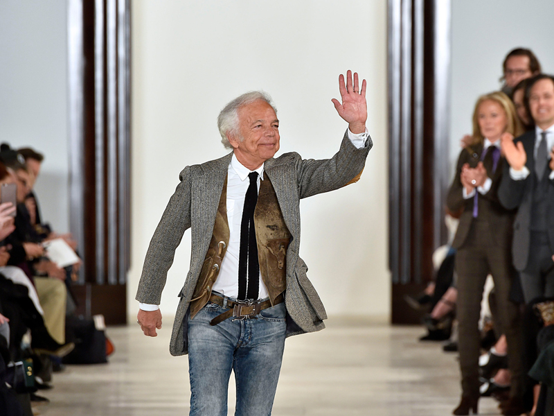 Feb. 18, 2016 - New York, United States - Image licensed to i-Images Picture Agency. 18/02/2016. New York , United States. Designer Ralph Lauren  at the end of his show at New York fashion week A/W 16. Picture by  i-Images, Image: 274695967, License: Rights-managed, Restrictions: * China, France, Italy, Spain, Taiwan and UK Rights OUT *, Model Release: no, Credit line: Profimedia, Zuma Press - Entertaiment