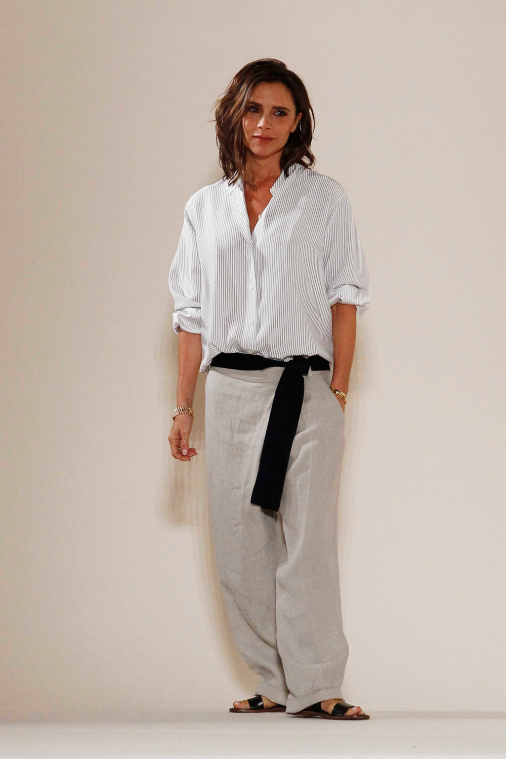 VICTORIA BECKHAM fashion show New York Fashion Week Ready to Wear, Spring Summer 16/17 on September 11, 2016, Image: 299584616, License: Rights-managed, Restrictions: , Model Release: no, Credit line: Profimedia, Capital pictures