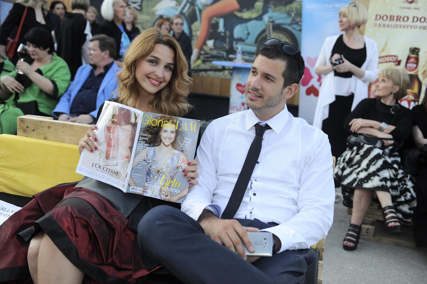 promocija Gloria Glam i 30 godina XD Xenia Design / Ksajpa Senkovec 10.06.2016. / foto: Maja Jurovic / Doris Pincic Rogoznica i Boris Rogoznica