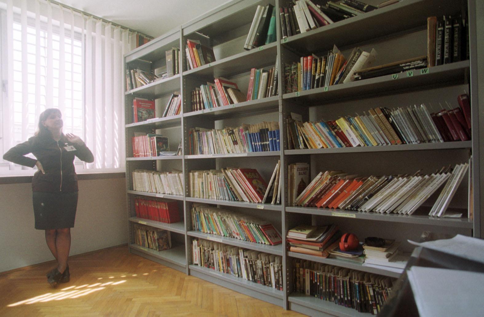 Knjižnica za zatvorenike u Remetincu