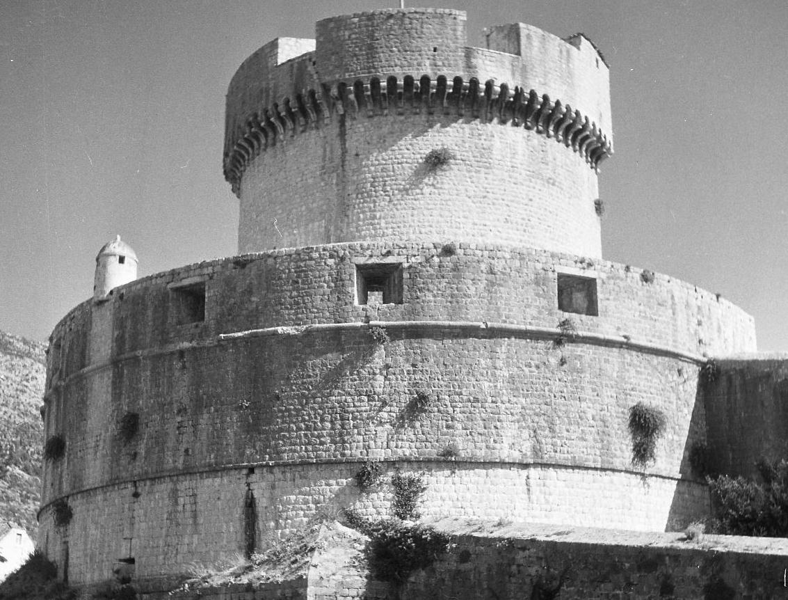 Tošo Dabac, Kula Minčeta, Dubrovnik, oko 1950.