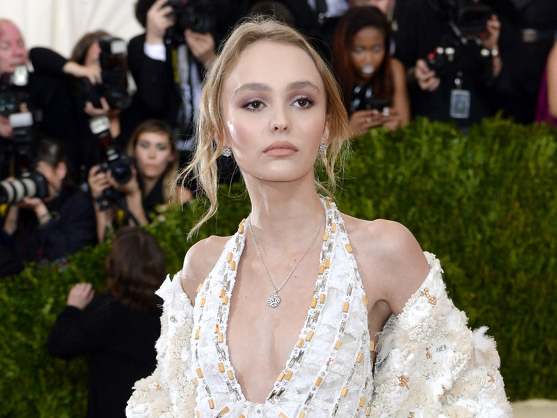 Lily-Rose Melody Depp attending The Metropolitan Museum of Art Met Gala 2016, in New York City, USA., Image: 283750876, License: Rights-managed, Restrictions: None, Model Release: no, Credit line: Profimedia, Press Association
