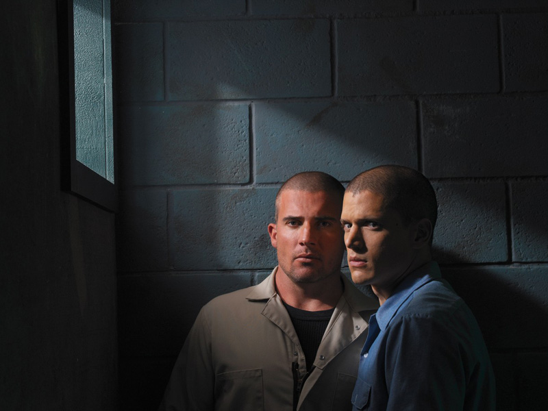 PRISON BREAK (2005) - DOMINIC PURCELL - WENTWORTH MILLER., Image: 137143459, License: Rights-managed, Restrictions: Editorial Use only, Model Release: no, Credit line: Profimedia, Album