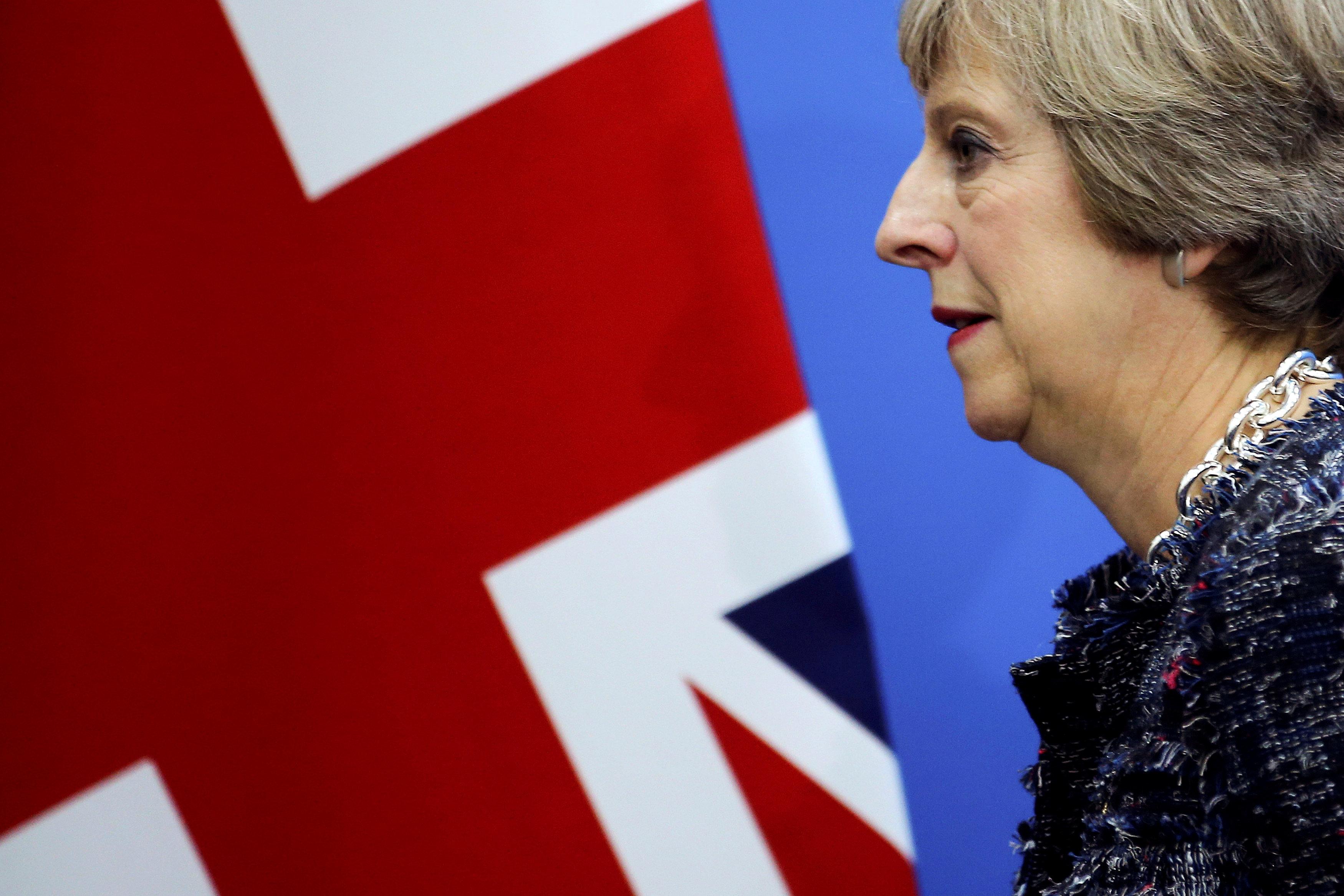 Theresa May, britanska premijerka