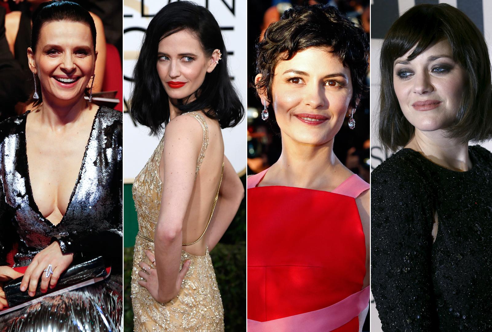 Juliette Binoche, Eva Green, Audrey Tautou i Marion Cotillard