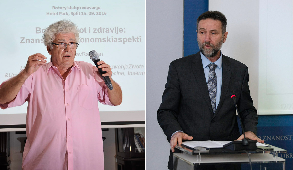 Miroslav Radman i ministar Barišić