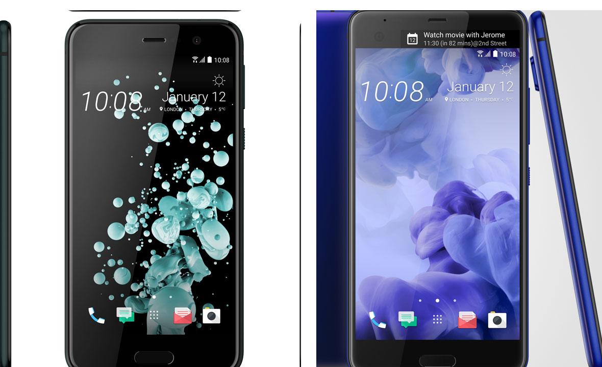 HTC U Play (lijevo) i HTC U Ultra (desno)