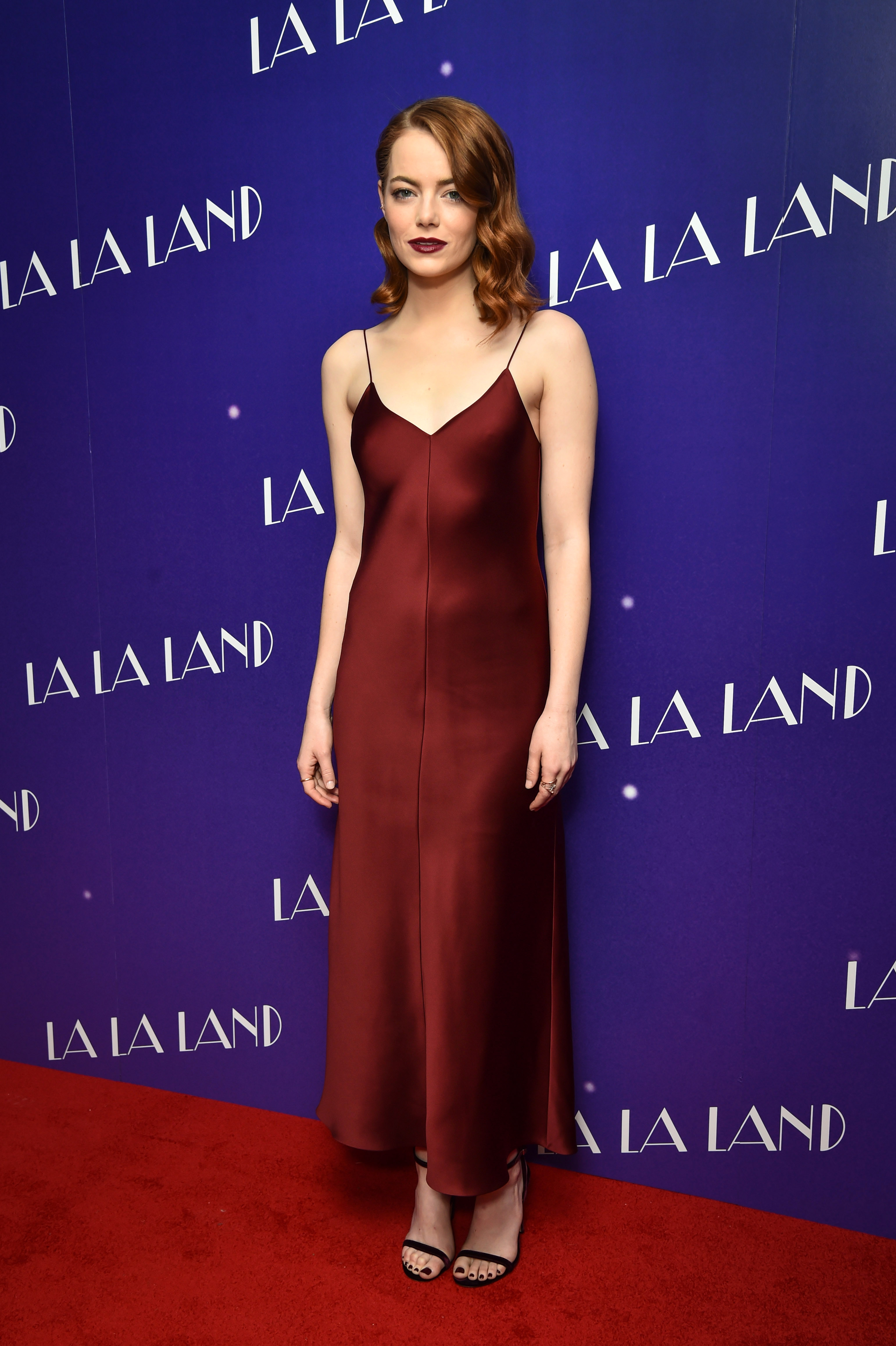 Emma Stone attending a gala screening for La La Land held at Ham Yard Hotel, London.  Picture date: Thursday January 12th, 2017., Image: 310659187, License: Rights-managed, Restrictions: WCDIRECT, Model Release: no, Credit line: Profimedia, Press Association