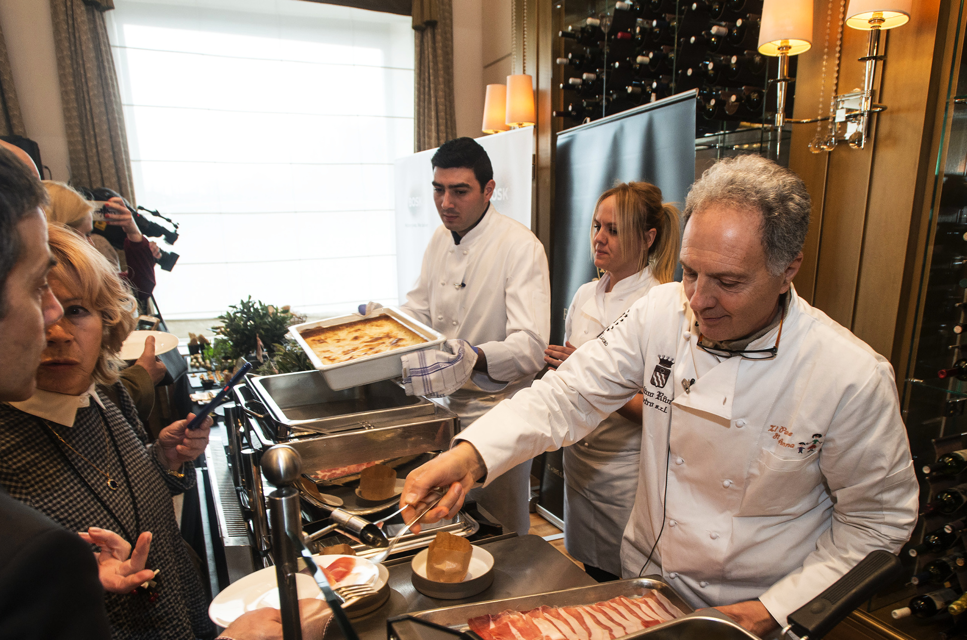 Bosk - Esplanade gluten free cerfitikat_ Ana Grgić, chef Esplanade, talinanski chef Eugenio Rivetti