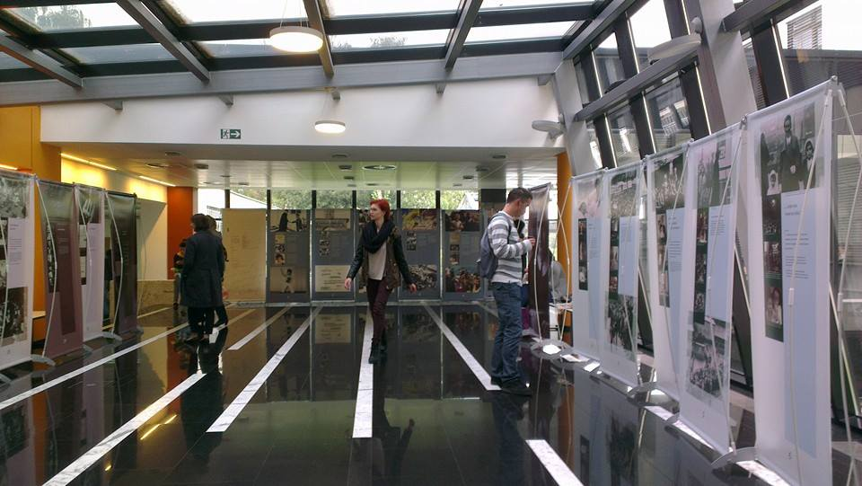 Izložba Anne Frank na Filozofskom fakultetu u Zagrebu