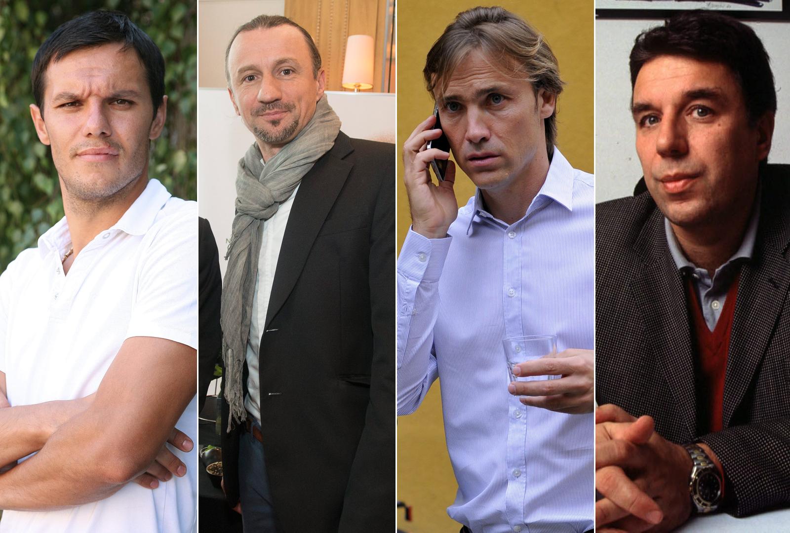 Mario Jurić, Mario Stanić, Dario Šimić i Mladen Petreski