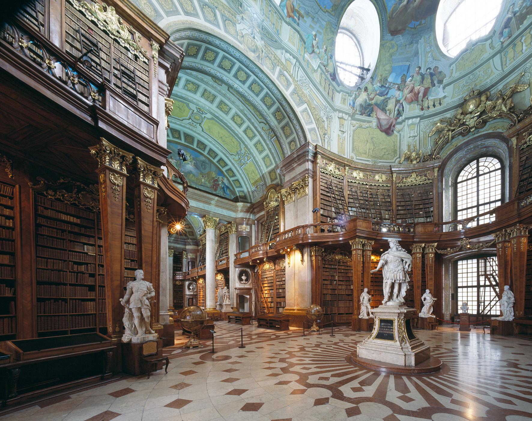 Svečana dvorana_2© Hejduk_Österreichische Nationalbibliothek