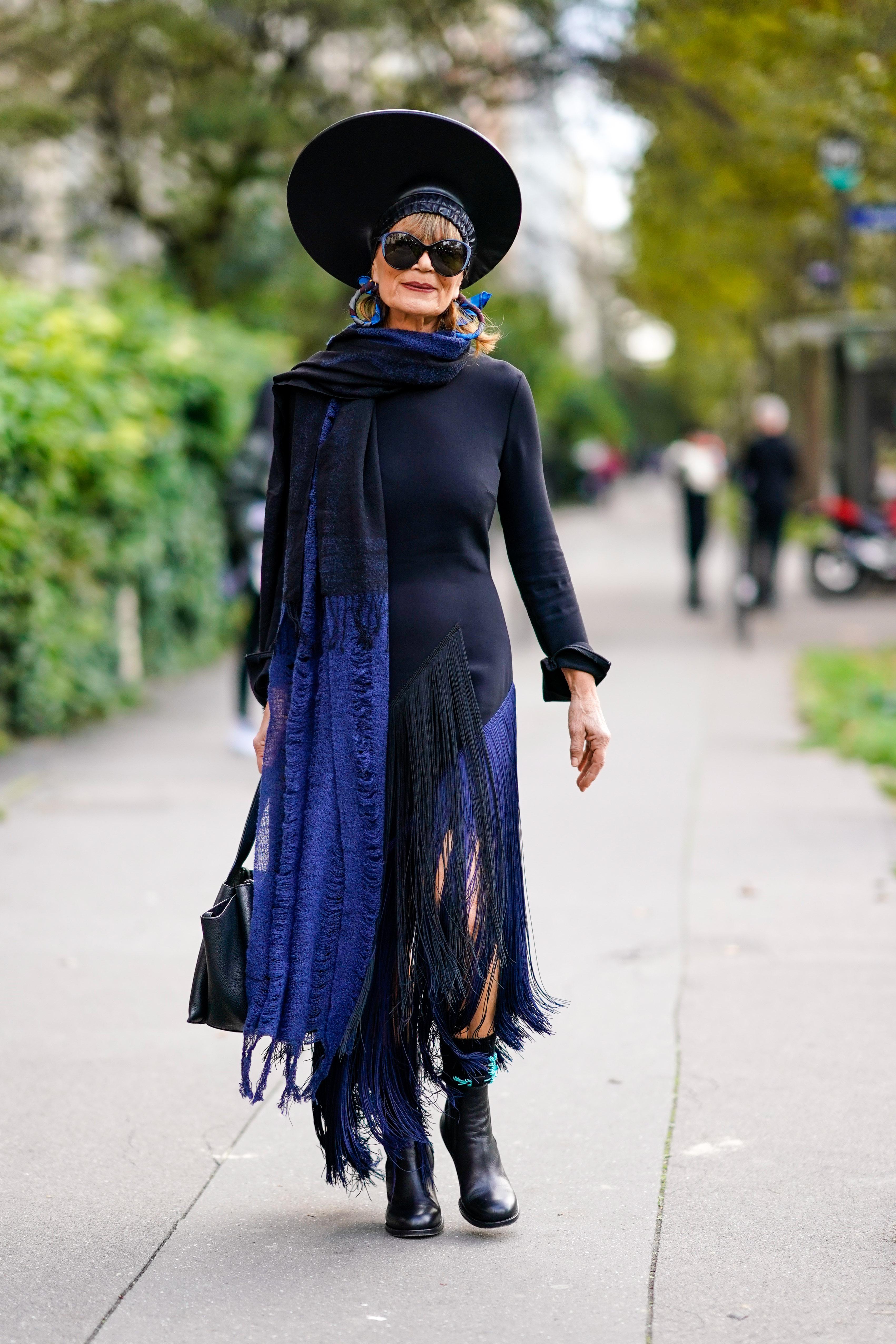 Đurđa Tedeschi prije revije Comme des Garcones na pariškom Tjednu mode