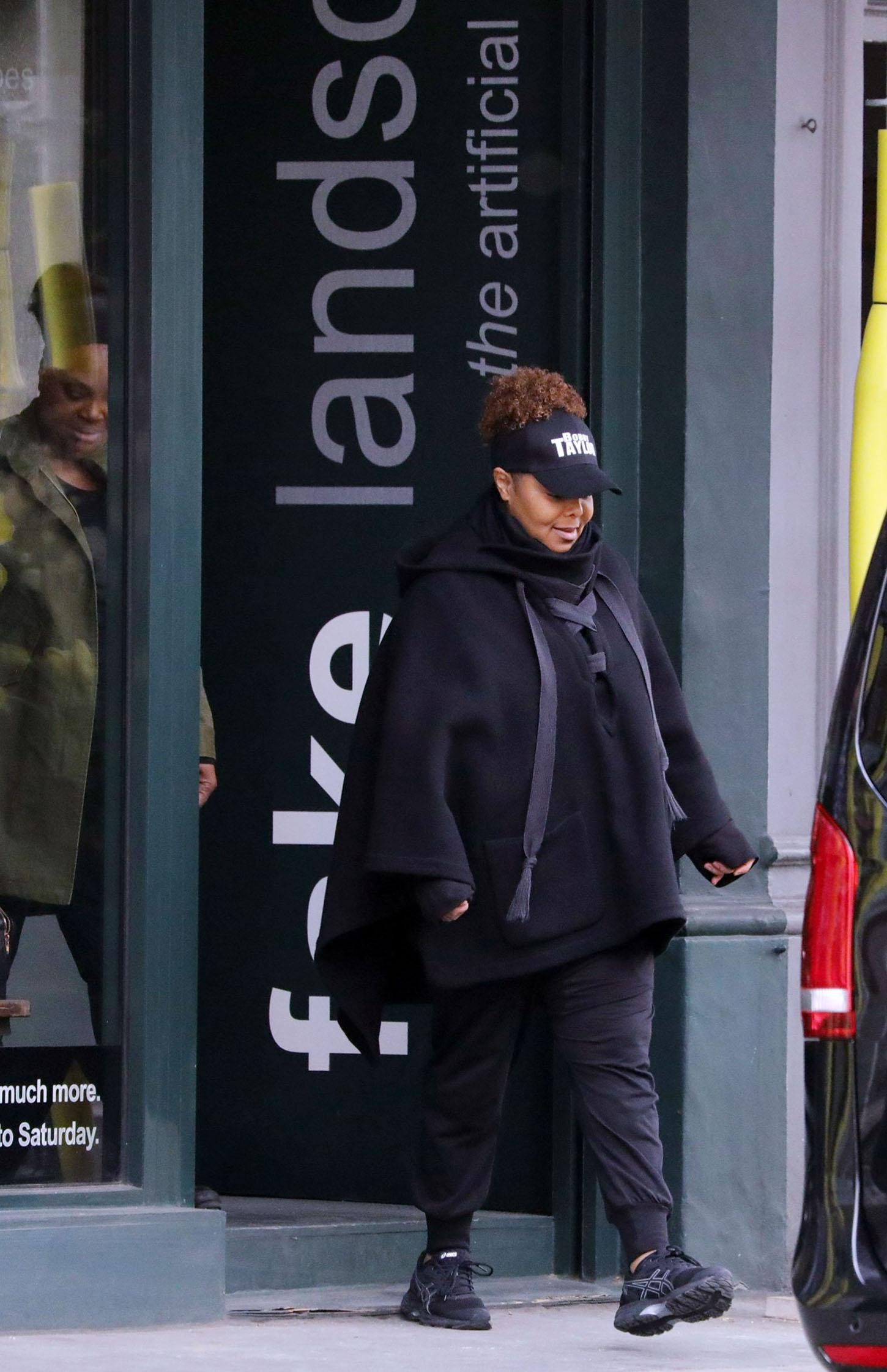 Janet Jackson u Londonu u travnju ove godine