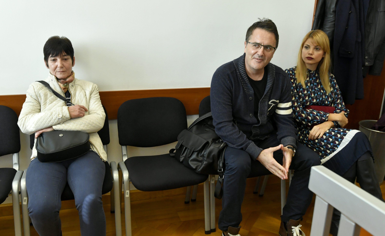 Anica Jurilj, Tarik i Lejla Filipović na ročištu u listopadu 2017. godine
