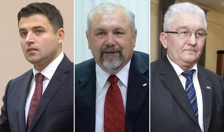 Ključni partneri Bernardića (lijevo) za buduće izbore mogli bi biti Silvano Hrelja (u sredini), ali i Milivoj Špika (desno) koji je još donedavno koalirao s HDZ-om