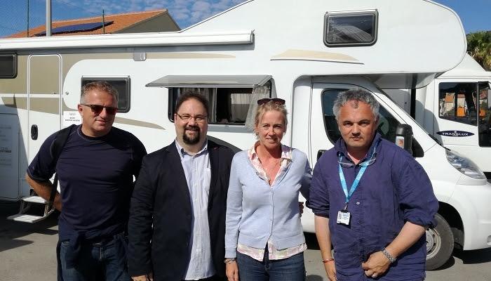 Ravnatelj HAVC-a Daniel Rafaelić posjetio snimanje