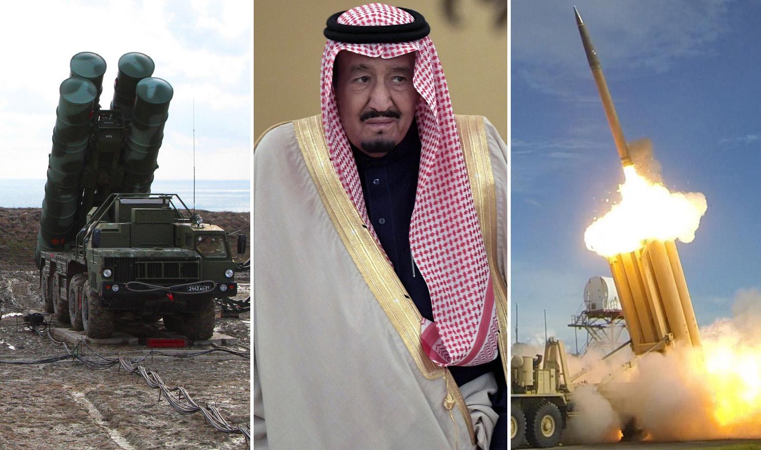 S-400, saudijski kralj Salman i THAAD
