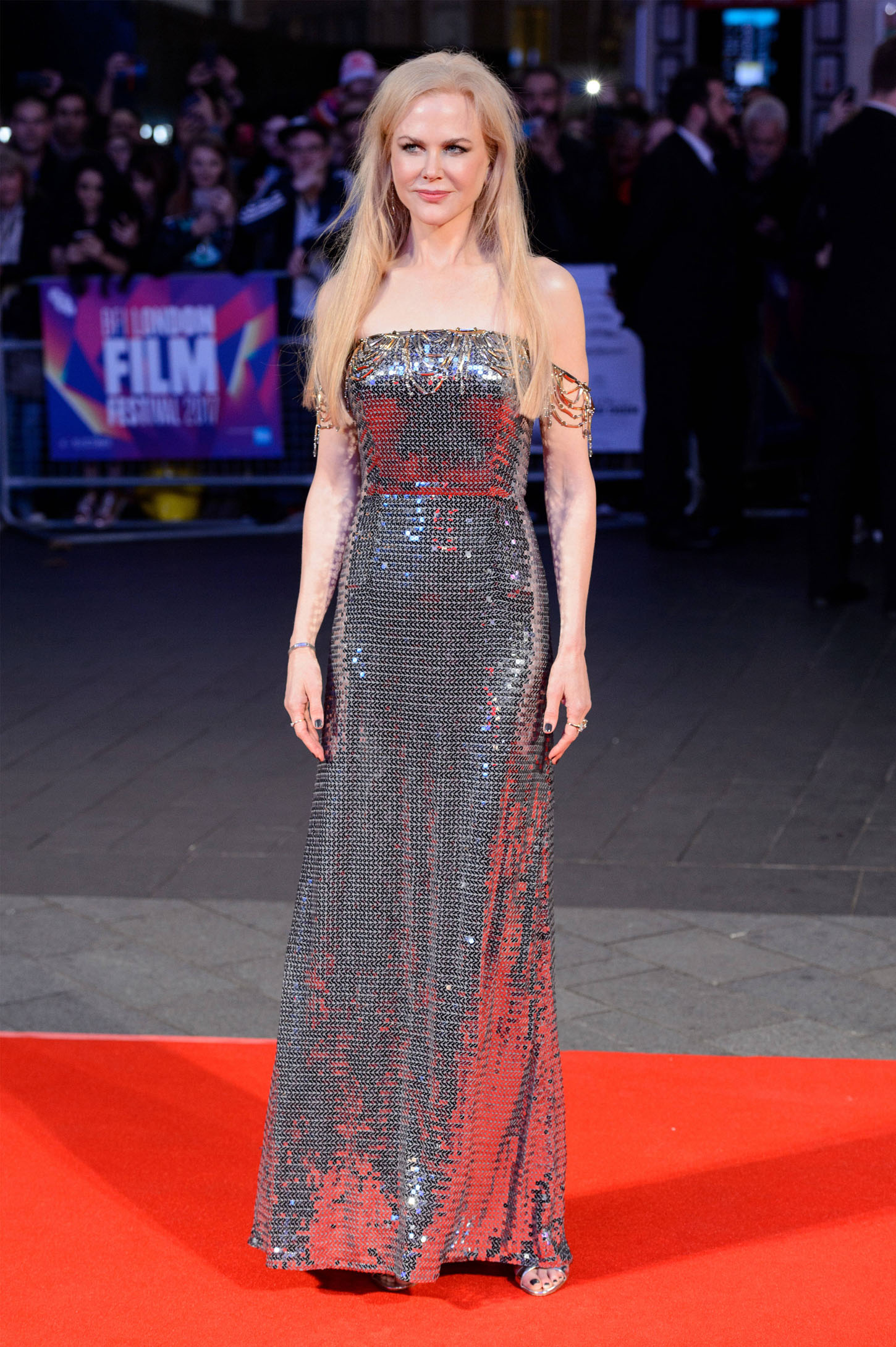 Stars attend the UK film premiere of Killing Of A Sacred Deer showing as part of the 51st BFI London Film Festival. <P> Pictured: Nicole Kidman <B>Ref: SPL1601196  121017  </B><BR/> Picture by: Ray Tang / ZUMA Press / Splash News<BR/> </P><P> <B>Splash News and Pictures</B><BR/> Los Angeles:310-821-2666<BR/> New York:212-619-2666<BR/> London:870-934-2666<BR/> <span id=
