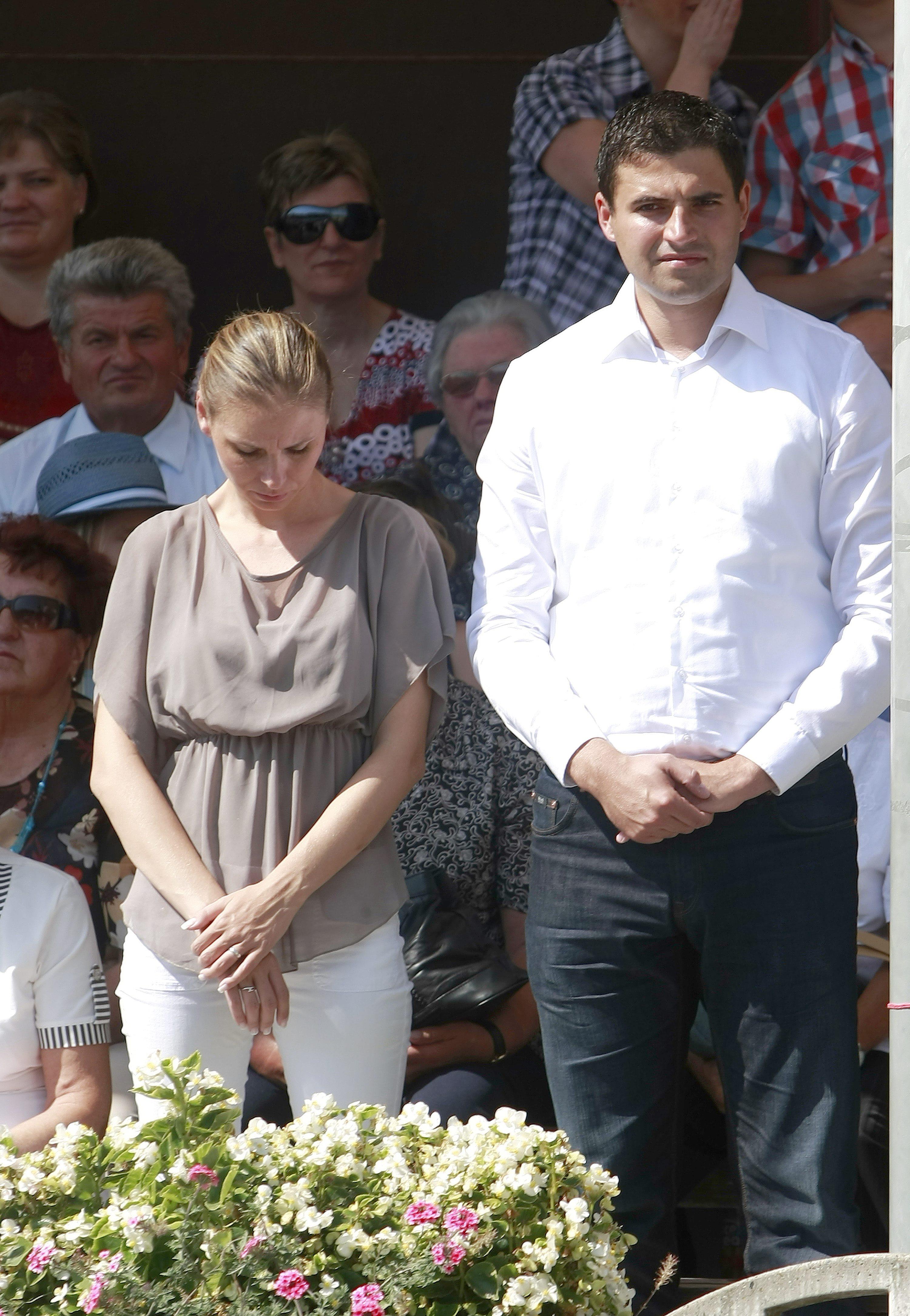 Davor Bernardić i supruga na proslavi Velike Gospe u Mariji Bistrici