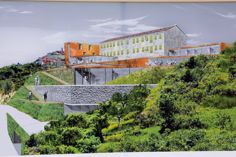 Projekt nove vinarije i hotela Roxanich
